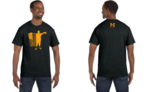black t-shirt nmh foundation